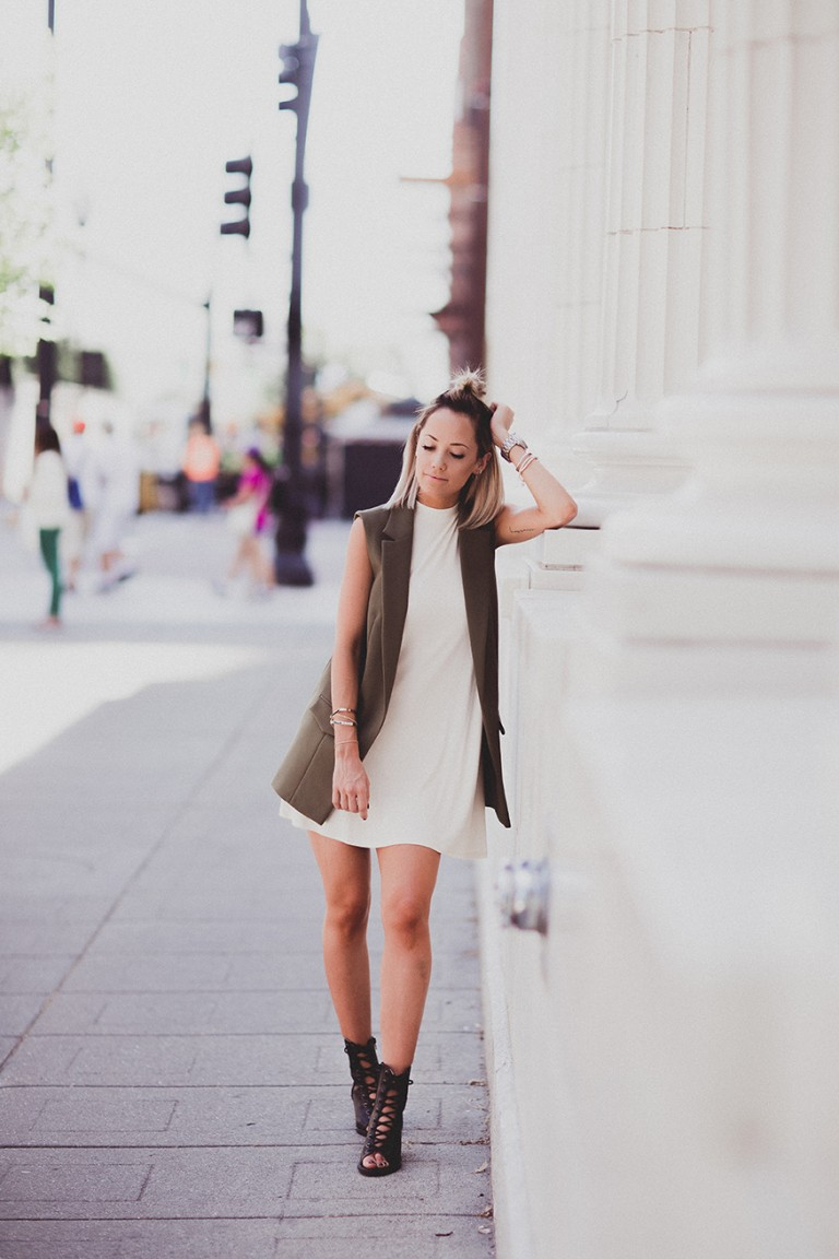 Styling Your Sleeveless Blazer
