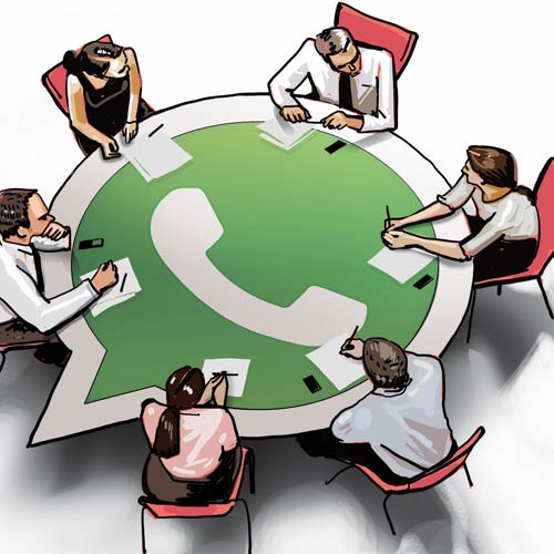The Evil Whatsapp Group Conversation